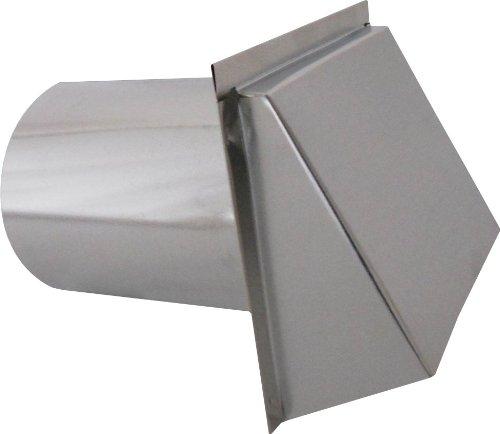 Kitchen Exhaust Vent Wall Cap: SIDE WALL CAP W / DAMPER & SCREEN