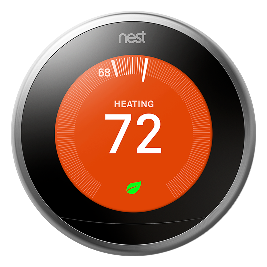 nest 3rd generation learning thermostat ac distributors. Black Bedroom Furniture Sets. Home Design Ideas
