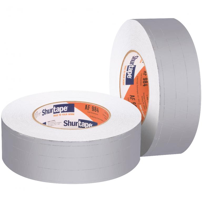 shurtape af 984ct cold temperature foil scrim kraft tape ac