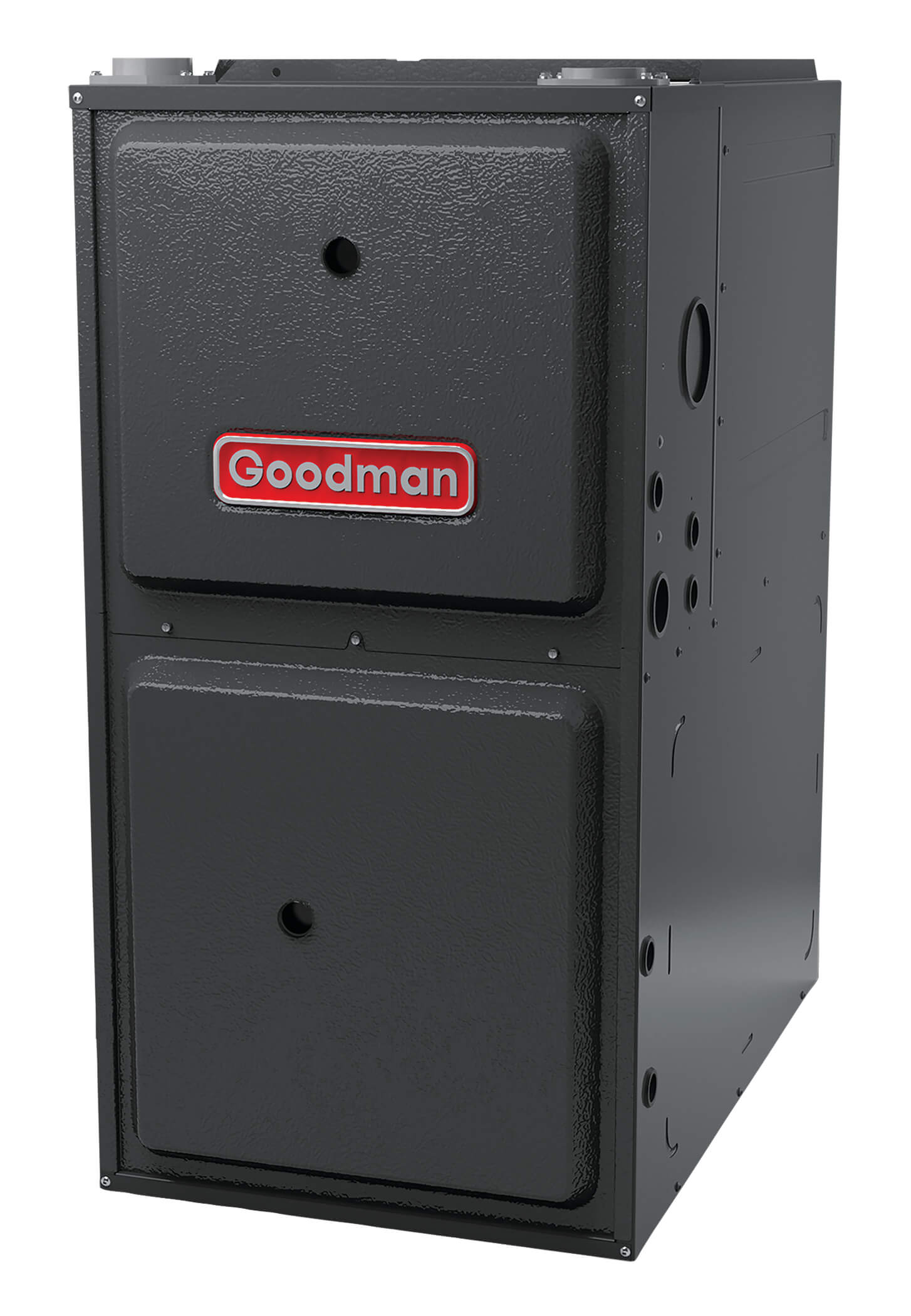 GMSS92 Goodman Single Stage Gas Furnace High Efficiency Multi Speed Up To 92 AFUE Performance Upflow Horizontal