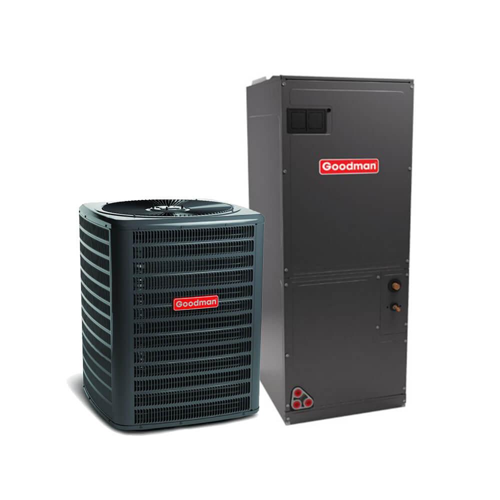 3 Ton 16 SEER Heat Pump with Air Handler – GSZ160361 AVPTC37C14