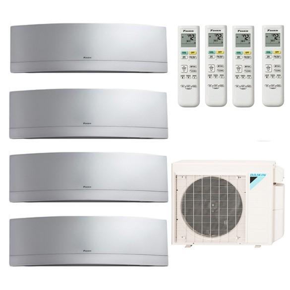 Daikin Multi-Zone Mini Split MXS Series with Emura Wall-Mounted Indoor Unit  - 4 Zones