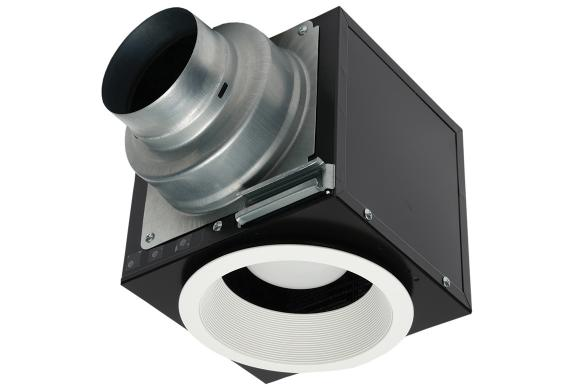 Fv Nlf46res Panasonic Exhaust Or Supply Inlet For Remote Mount In Line Fans And H Ervs With Led Light
