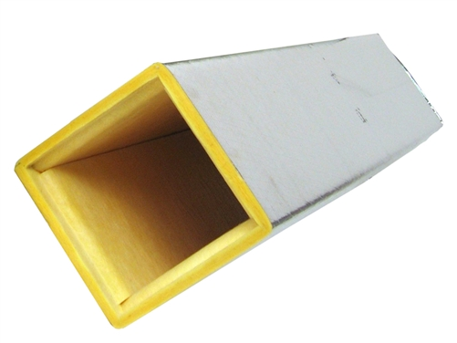 Duct Board Supply Plenum 4 Long R4 1 Quot R6 1 5 Quot R8 2