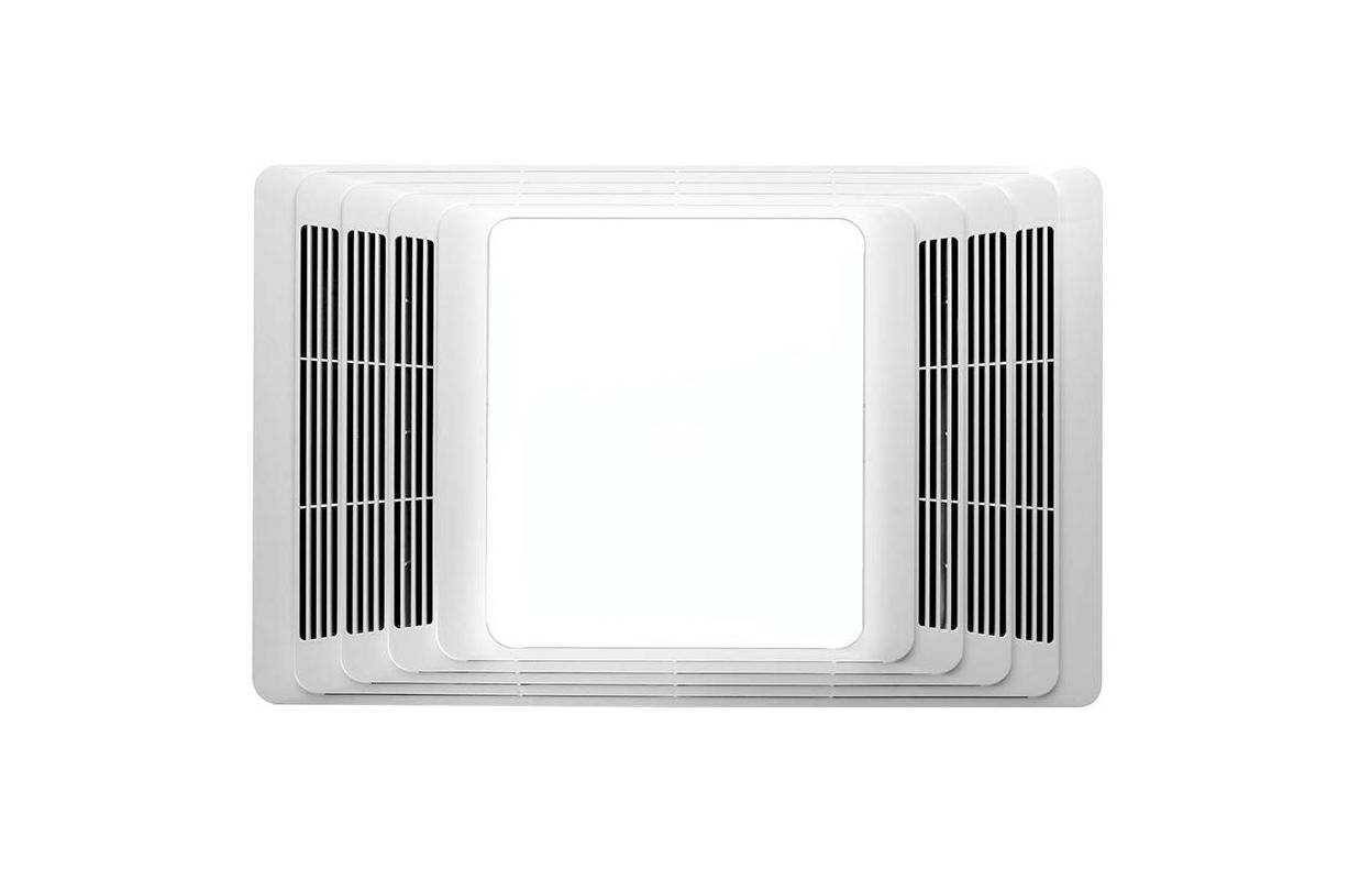 Light And White Plastic Grille 70 Cfm