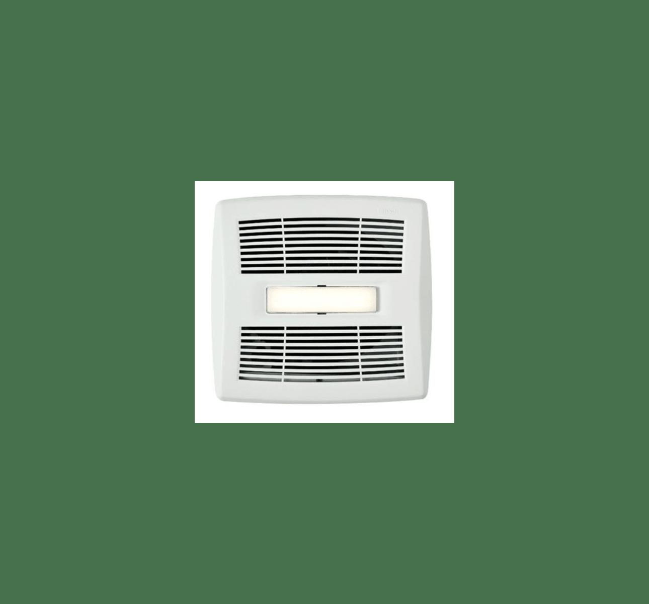 Shop Broan 0 3 Sone 110 Cfm White Bathroom Fan Energy Star: Broan InVent™ Series Bathroom Exhaust Fan With LED Light