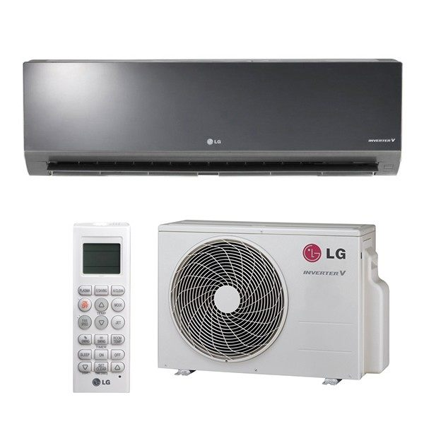 LG Art Cool Mirror Single Zone Ductless Mini Split with Heat Pump up to  23 5 SEER and up to 24000 BTU