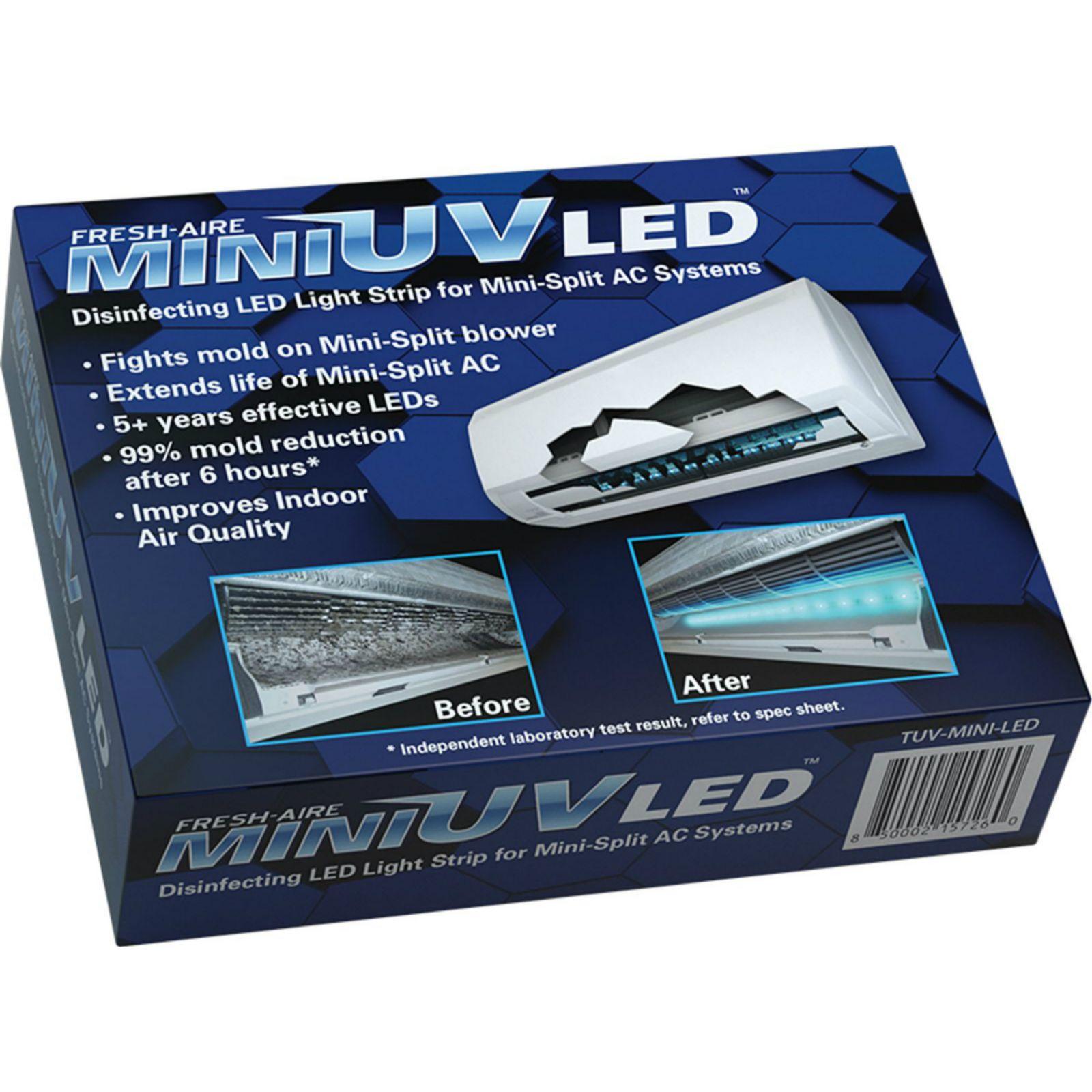 Fresh Aire Ductless Mini Uv Light System 120 277v Tuv Mini